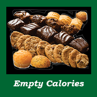 Empty calories - cookies