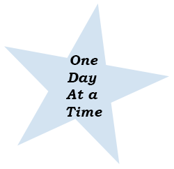 star with one day at a time text