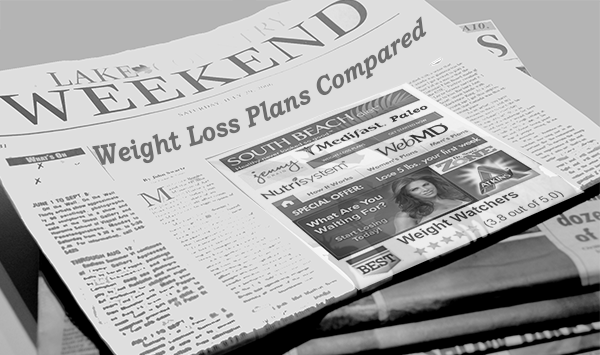 Weight Loss Plans Compared Newspaper